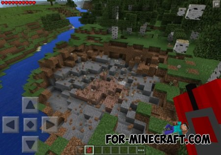C4 mod for Minecraft PE 0.10.5