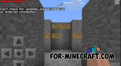 CS map for Minecraft PE 0.10.5