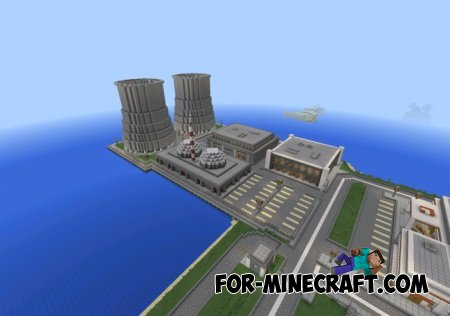 Tazader City 2015 map for MCPE 0.10.X