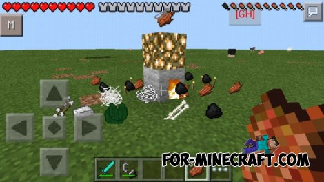More drop 1.0 By Morro for MCPE 0.10.5