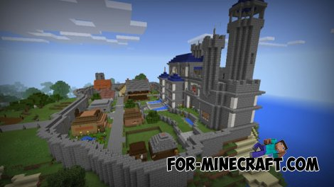 Camelot map for MCPE 0.10.X
