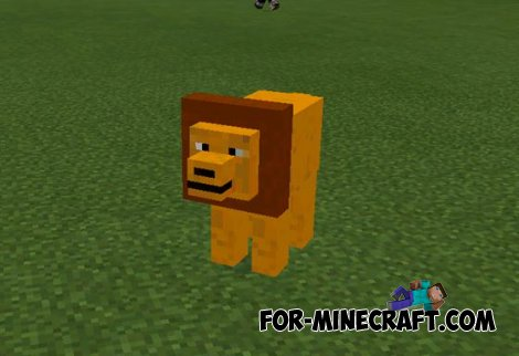 Mo Animals mod for Minecraft PE 0.10.5 by Nexdro