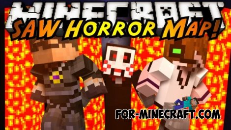 Saw Horror Map for MCPE 0.10.5