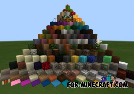 Theber Texture pack for Minecraft PE 0.10.5