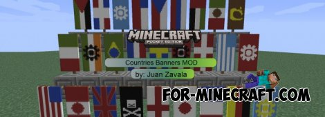 Coutry Banners Mod for 0.10.4 / 0.10.5