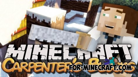 Carpenter's Life Mod V1.0 for minecraft pocket edition 0.10.5