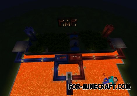 SkyWars map for Minecraft PE 0.10.5