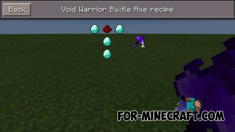 Legendary Weapons mod for MCPE 0.10.5
