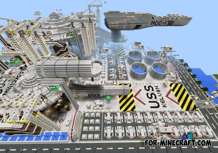 Star Trek map for Minecraft PE 0.10.5/0.11.0 Download Maps For Minecraft Pe on