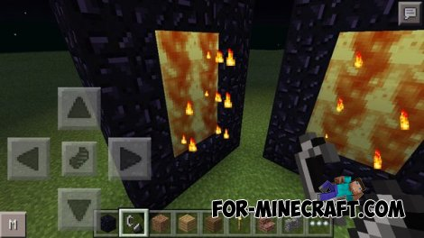 Real Nether Portal v0.1 for Minecraft PE 0.10.5