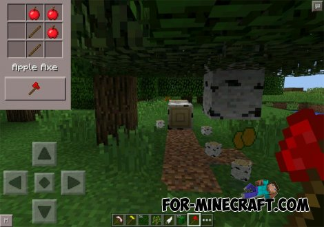 Fruit World mod for MCPE 0.10.5
