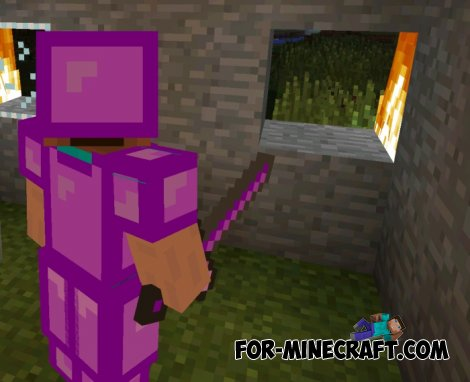 Infected mod for MCPE 0.10.5