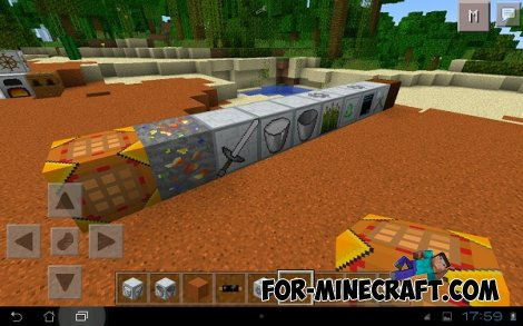 Faithful texture 32×32 + Factorization MCPE 0.10.5
