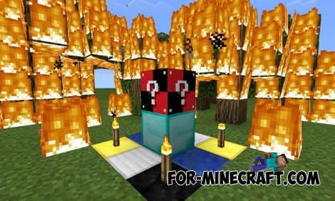 GTR Lucky Block Mod for Minecraft PE 0.10.5/0.10.4