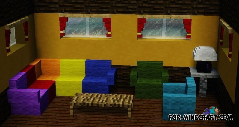Update Mrcrayfish S Furniture Mod For Mcpe 0 11 0