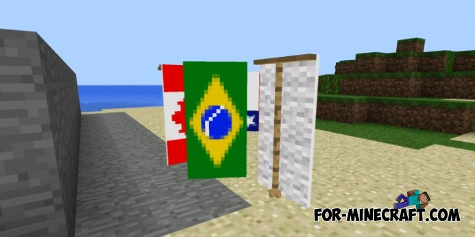 Banners Mod For Minecraft Pe 0 11 0 0 10 5