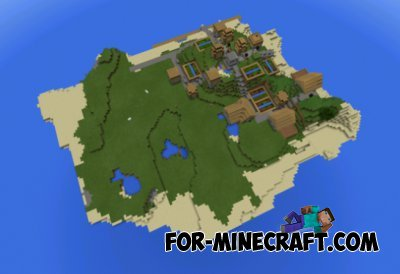 Island and village seed for Minecraft PE