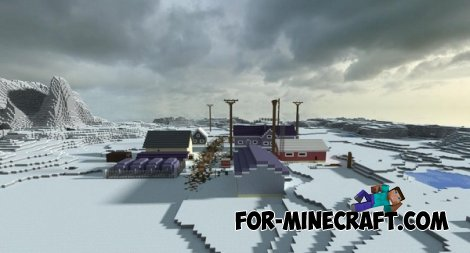 Alaskan Town map for Minecraft PE 0.10.5 / 0.11.0