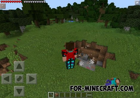 Thor mod for Minecraft PE 0.10.5