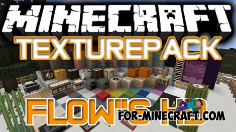 Flows HD for Minecraft 1.8.4 128x