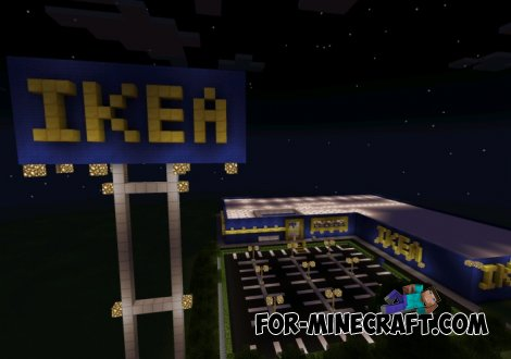 IKEA shopping center map for Minecraft Pocket Edition