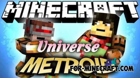 Metroid Cubed 2: Universe Mod for Minecraft 1.7.10