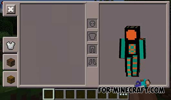 how to make chain armor in minecraft pe