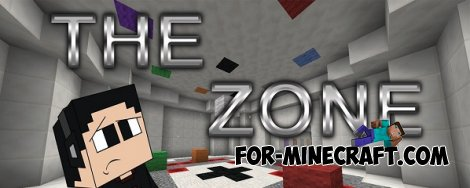 The Zone map for Minecraft 1.8