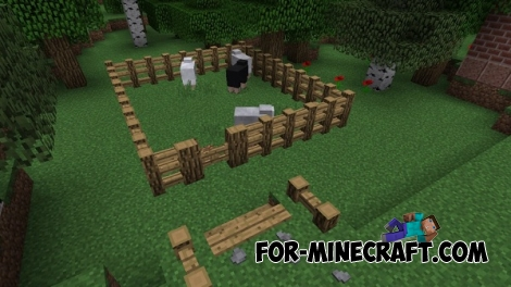 Chisels and Bits mod for Minecraft 1.8