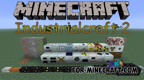 IndustrialCraft 2 Mod for Minecraft 1.7.2