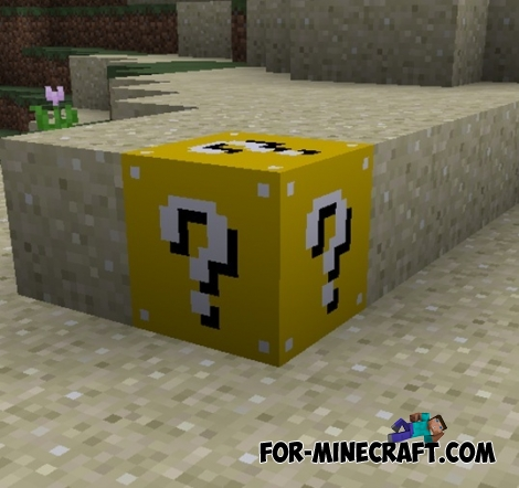 Lucky Block mod for Minecraft 1.8 / 1.7.10