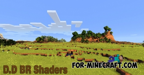 DD BR Shaders for Minecraft PE 0.11.1 / 0.11.0 (APK)