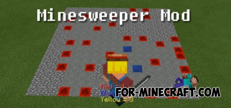 Minesweeper mod for Minecraft PE 0.11.1 / 0.11.0