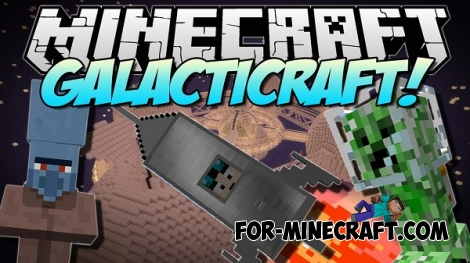 Galacticraft Mod for Minecraft 1.6.4 / 1.6.2