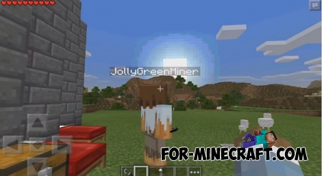 Sand Scramblers map for Minecraft PE 0.11.1