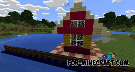 Colorable Planks mod for Minecraft PE 0.11.1/0.13.0/0.13.1