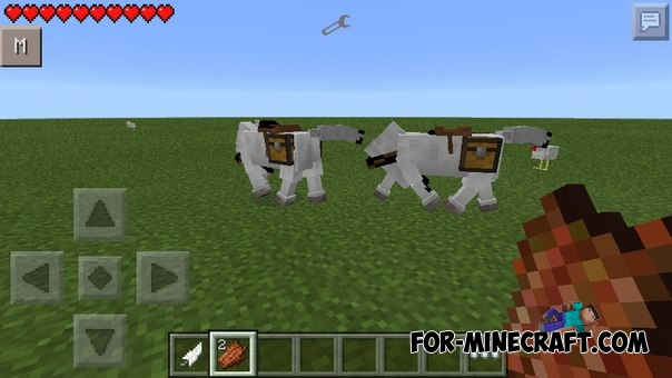 Horse mod for Minecraft PE 0 11 1 / 0 11 0