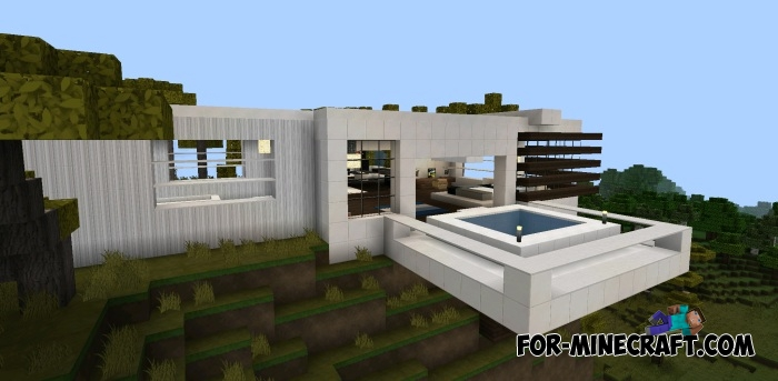 Vacation House map for Minecraft PE 0 11 X