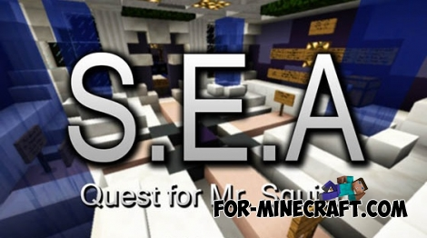 S.E.A Quest for mr Squish map for Minecraft PE 0.11.1