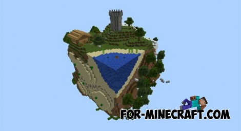 The cube v2 map for Minecraft PE 0.11.X