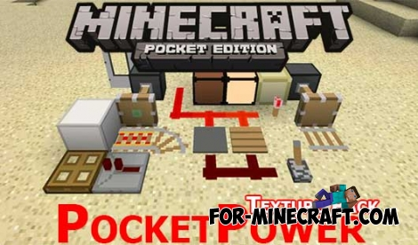 PocketPower Craft Texture Pack for MCPE 0.11.1 / 0.11.0