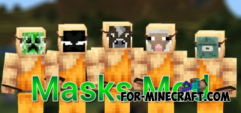 Masks mod for Minecraft PE 0.11.1 / 0.11.0