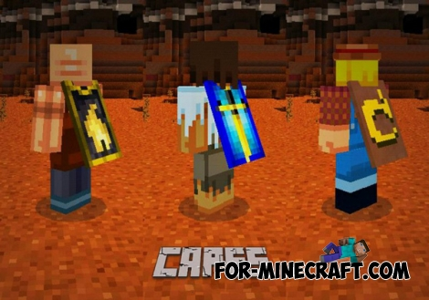Capes mod for Minecraft PE 0.11.1
