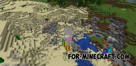 TNT Snake mod for MCPE 0.11.1 / 0.11.0