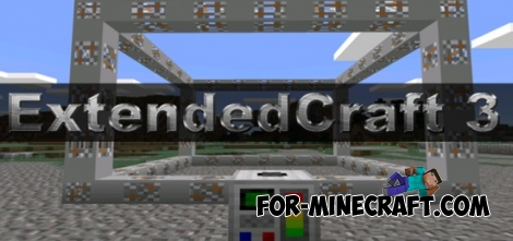 ExtendedCraft 3 mod for Minecraft PE 0.11.0 / 0.11.1 / 0.12.1