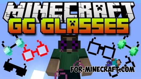Glasses Mod for Minecraft PE 0.11.1 / 0.11.0