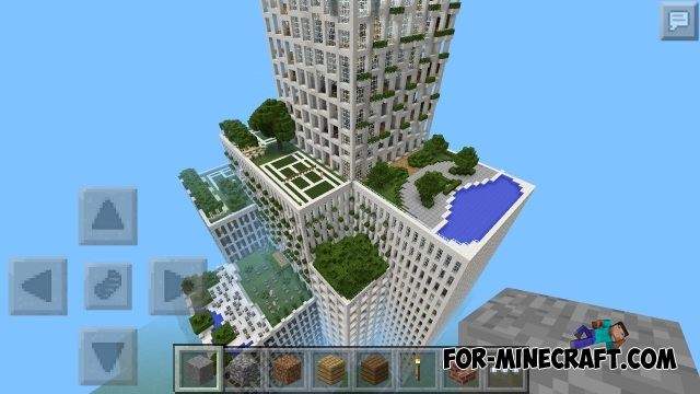 Super Hotel Map For Mcpe 0 12 1