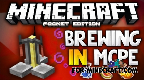 Brewing in Minecraft PE 0.12.0 / 0.12.1