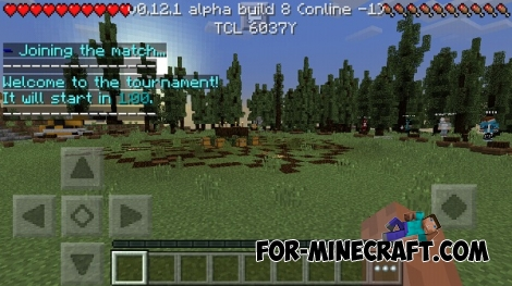 HungerGames server for Minecraft PE 0.12.1