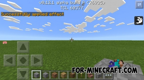 SinglePotion mod for Minecraft PE 0.12.1
